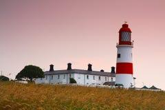 Souter lighthouse, UK. Royalty Free Stock Photo