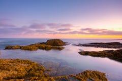 Soutern California sunset Stock Photo