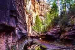Souterrain coloré dans Sedona, Arizona Photographie stock