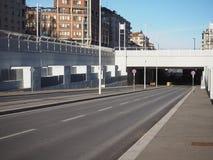 Souterrain de Corso Inghilterra à Turin photographie stock