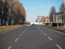 Souterrain de Corso Inghilterra à Turin photos stock