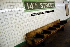 souterrain de gare Photographie stock