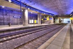souterrain de gare image stock