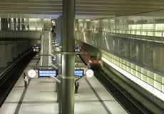souterrain de gare Photo stock