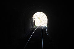 Souterrain de ligne ferroviaire du Pakistan dans le swabi Photographie stock