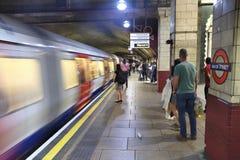 Souterrain de Londres Images libres de droits