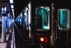 Souterrain de New York Photos libres de droits