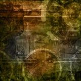 Souterrain de surface rayé par texture grunge Images stock