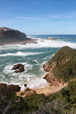 South Africa. Amazing view of Knysna coast in South Africa royalty free stock photography
