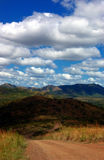 South africa. View of savanna in south africa stock photos