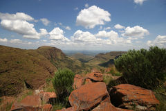 South Africa. Mountains in the Northern Province South Africa Royalty Free Stock Photo