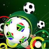 South Africa balls. World Cup South Africa balls royalty free illustration