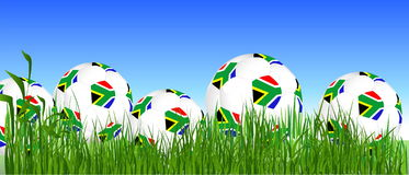 South Africa balls Stock Photo