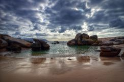 South Africa Boulders Beach. Taken in 2013 taken in HDR Royalty Free Stock Images