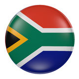 South Africa button on white background Stock Images