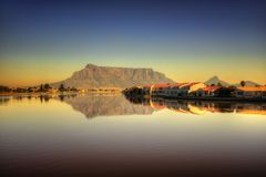 South Africa  Capetown Beach Royalty Free Stock Images