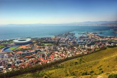 South Africa Capetown Skyline Stock Photography