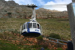 South Africa capetown, table mountain cable car Stock Photography