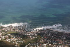 South Africa capetown, table mountain Royalty Free Stock Photo