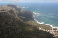 South Africa capetown, table mountain Royalty Free Stock Photography