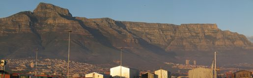 South Africa, Capetown, Table Mountain. Nice view of Table Mountain Stock Photos