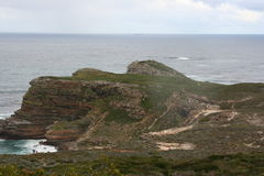 South Africa capetown, table mountain seashore Royalty Free Stock Photos