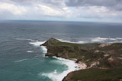 South Africa capetown, table mountain seashore Stock Images