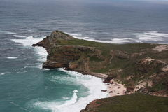 South Africa capetown, table mountain seashore Stock Photography