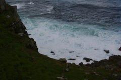 South Africa capetown, table mountain seashore Stock Photo
