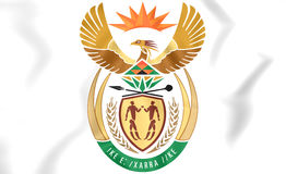 South Africa Coat of Arms. Royalty Free Stock Images