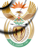 South Africa Coat of Arms. Stock Image
