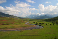 South Africa Drakensberg Mountains Royalty Free Stock Image