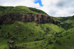 South Africa Drakensberg Mountains Royalty Free Stock Photos