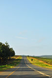 South Africa, East, Mpumalanga province, road, landscape. South Africa, 01/10/2009: african landscape seen from a road in the Mpumalanga, the eastern province Stock Photography