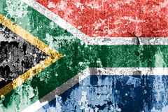 South Africa flag Stock Image