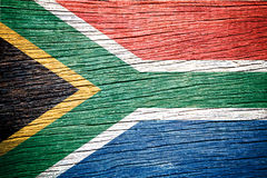 South Africa flag Royalty Free Stock Photography