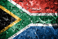 South Africa flag Royalty Free Stock Image