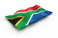 South Africa. Flag of South Africa consisting of cubes Royalty Free Stock Photos