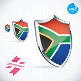 South Africa Flag Stock Photography