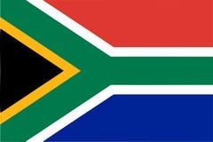 South Africa flag stock photos