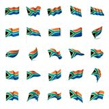 South africa flag, vector illustration Stock Image