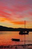 South Africa, Garden Route, Knysna, Thesen Islands Stock Photo