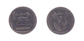 South Africa One Rand Coin Royalty Free Stock Images