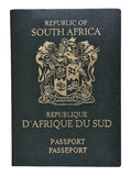 South Africa passport. Stock Photo