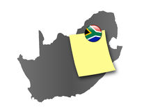 South Africa-Pin board Stock Image