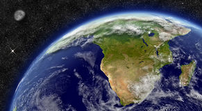 South Africa on planet Earth Royalty Free Stock Photo