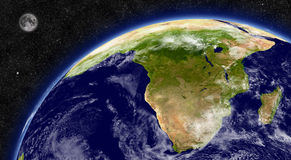 South Africa on planet Earth Stock Photo