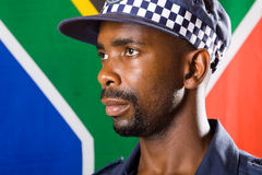 South africa policeman Royalty Free Stock Photos