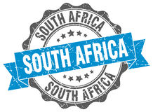 South Africa round seal Stock Photos