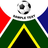 South Africa soccer Royalty Free Stock Image